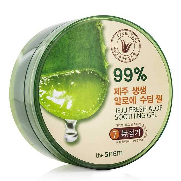 Гель с алоэ The Saem Jeju Fresh Aloe Soothing Gel 99%
