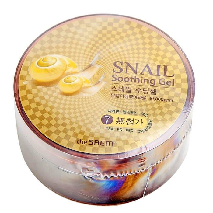 Гель с улиткой The Saem Snail Soothing Gel