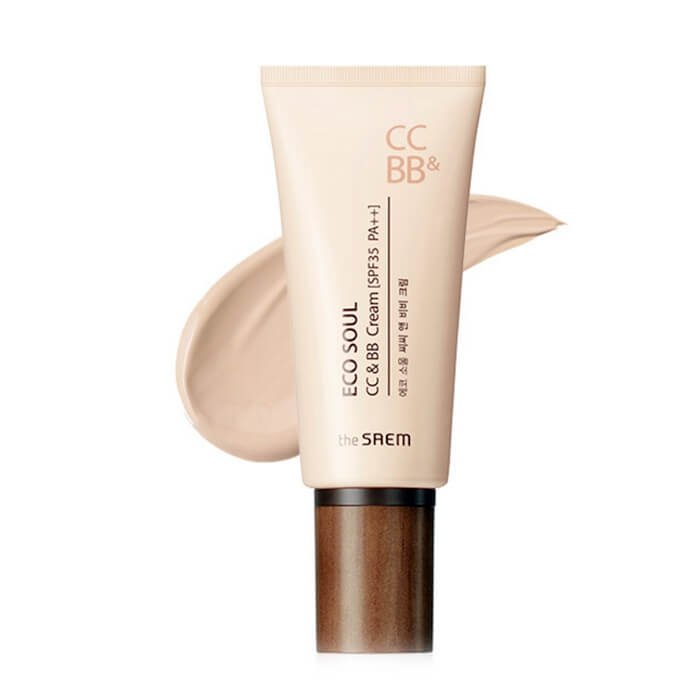 ВВ и СС крем The Saem Eco Soul CC & BB Cream