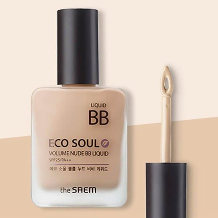 ВВ крем The Saem Eco Soul Volume Nude BB Liquid