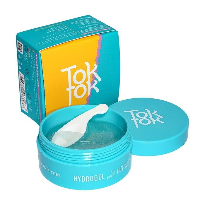 Патчи для век TokTok Hydrogel Tone Up Eye Patch