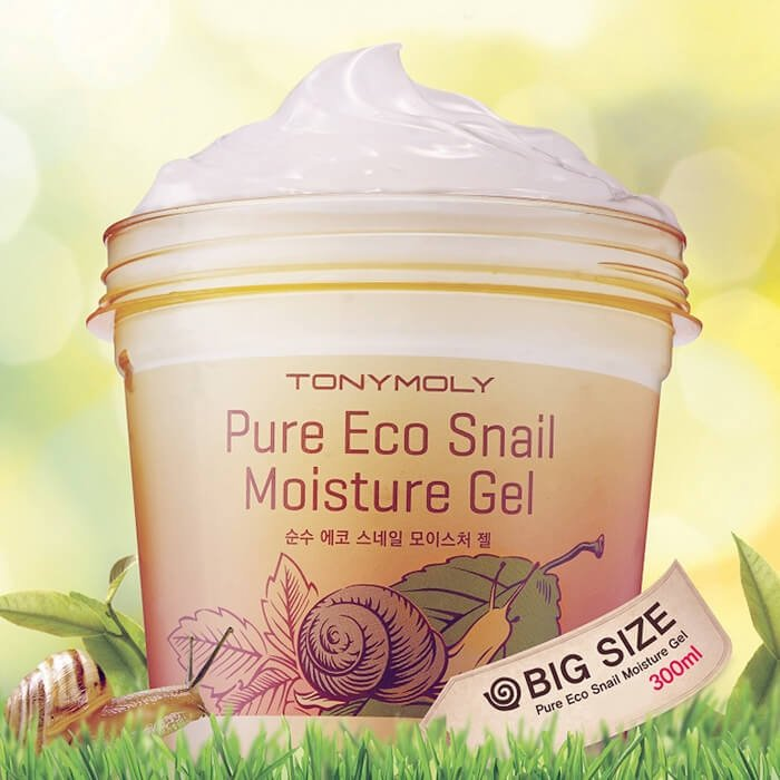 Гель с улиткой Tony Moly Pure Eco Snail Moisture Gel