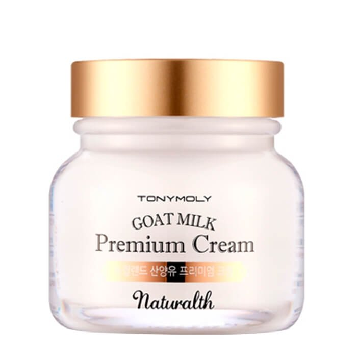 Крем для лица Tony Moly Naturalth Goat Milk Premium Cream