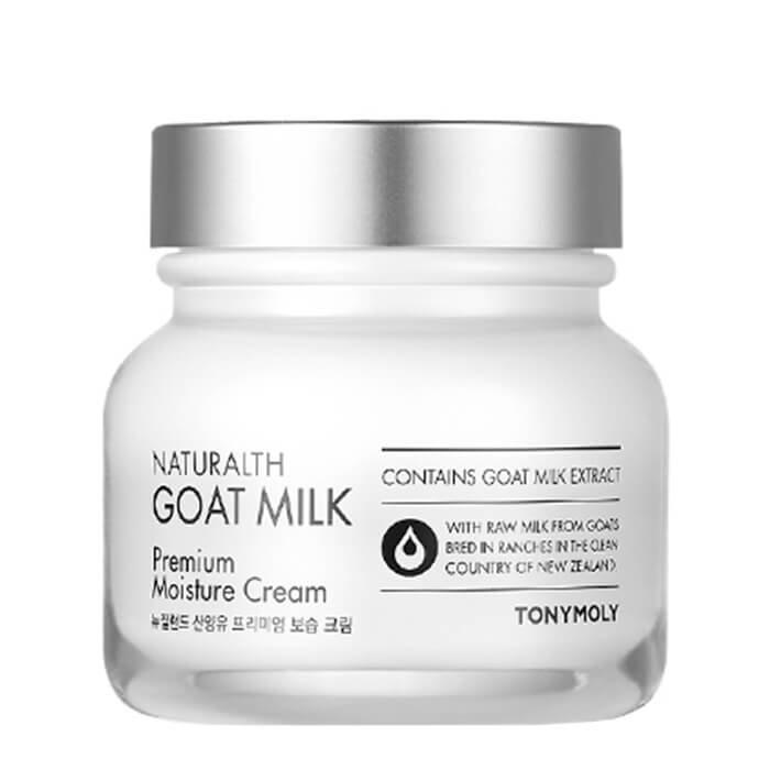 Крем для лица Tony Moly Naturalth Goat Milk Premium Moisture Cream