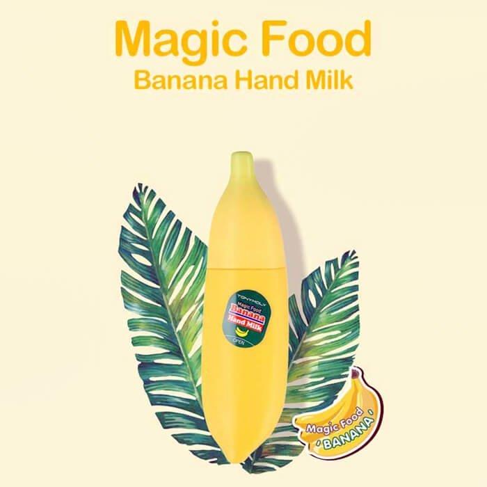 Крем для рук Tony Moly Magic Food Banana Hand Milk
