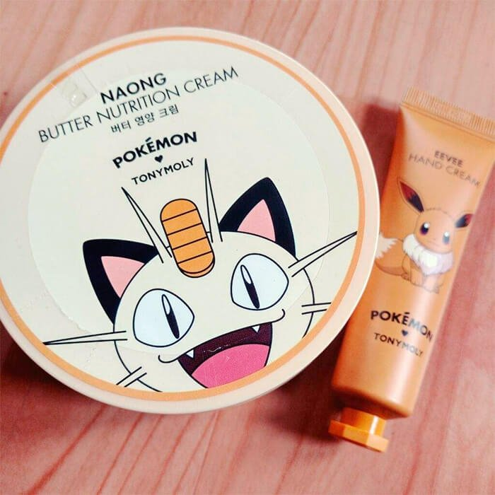 Крем-масло для тела Tony Moly Pokemon Naong Butter Nutrition Cream