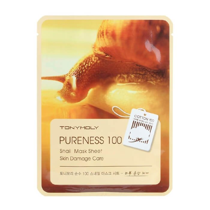 Тканевая маска Tony Moly Pureness 100 Snail Mask Sheet