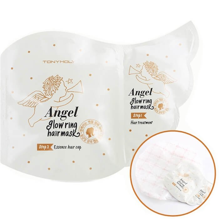 Маска для волос Tony Moly Angel Glow Ring Hair Mask