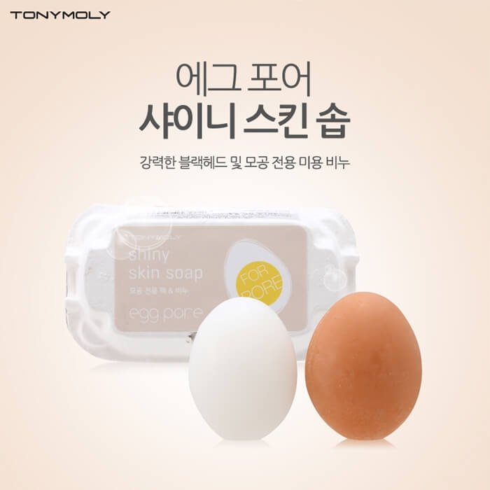 Мыло для лица Tony Moly Egg Pore Shiny Skin Soap