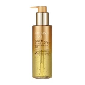 Гидрофильное масло-гель Tony Moly Intense Care Gold 24K Snail Cleansing Oil Gel