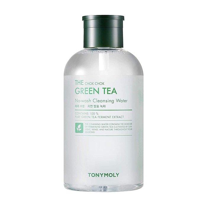 Очищающая вода Tony Moly The Chok Chok Green Tea No-wash Cleansing Water (700 мл)