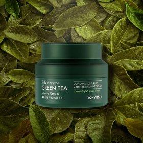 Крем для лица Tony Moly The Chok Chok Green Tea Intense Cream