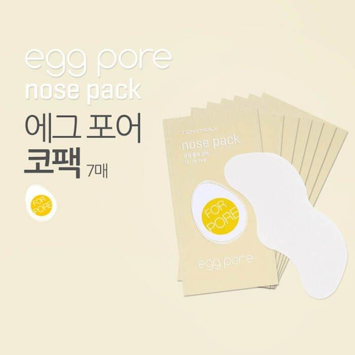 Очищающая полоска для носа Tony Moly Egg Pore Nose Pack