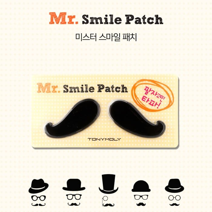 Патчи для носогубных складок Tony Moly Mr.Smile Patch