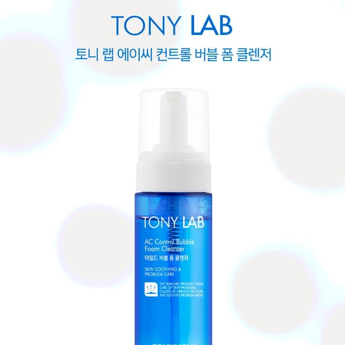 Пенка для умывания Tony Moly Tony Lab AC Control Bubble Foam Cleanser