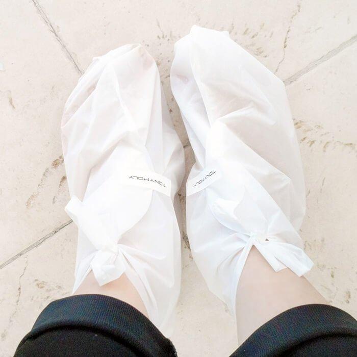 Носочки для пилинга Tony Moly Shiny Foot Super Peeling Liquid