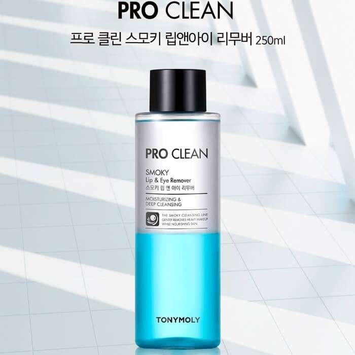 Средство для снятия макияжа Tony Moly Pro Clean Smoky Lip & Eye Remover