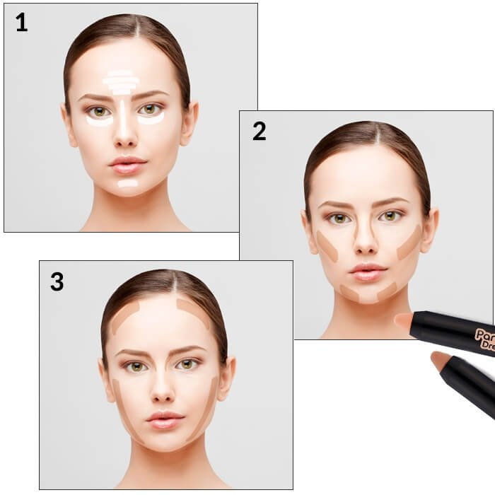 Стик для контуринга Tony Moly Panda's Dream Contour Stick