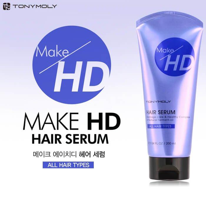 Сыворотка для волос Tony Moly Make HD Hair Serum