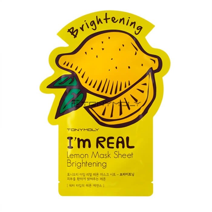 Тканевая маска Tony Moly I'm Real Lemon Mask Sheet Brightening