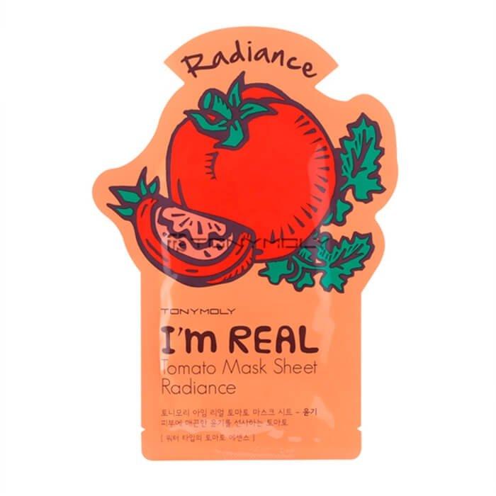 Тканевая маска Tony Moly I'm Real Tomato Mask Sheet Radiance