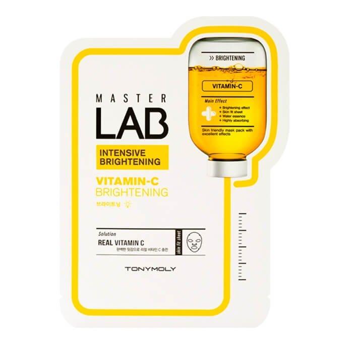 Тканевая маска Tony Moly Master Lab Vitamin C Brightening Mask Sheet