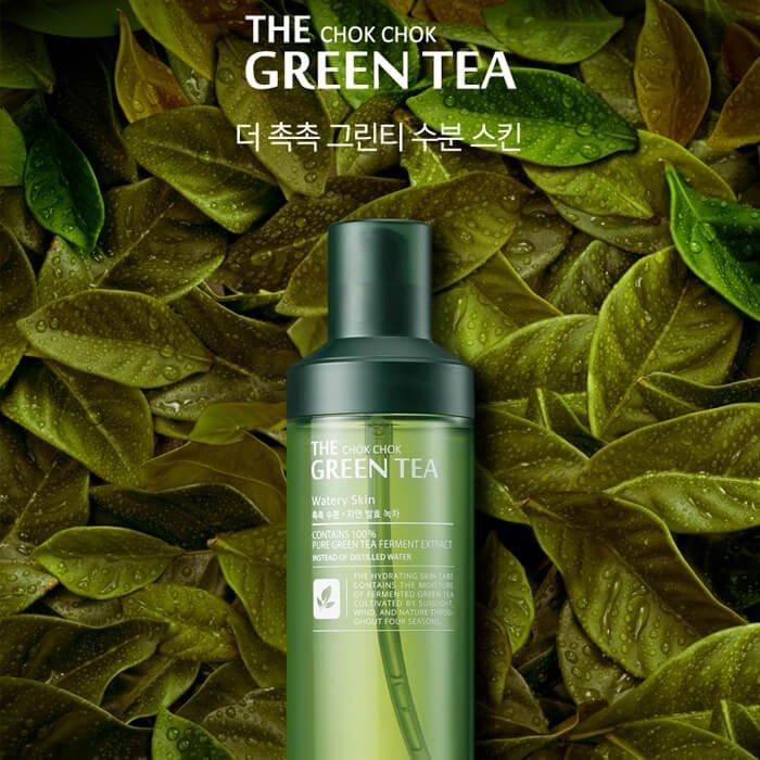 Тонер для лица Tony Moly The Chok Chok Green Tea Watery Skin