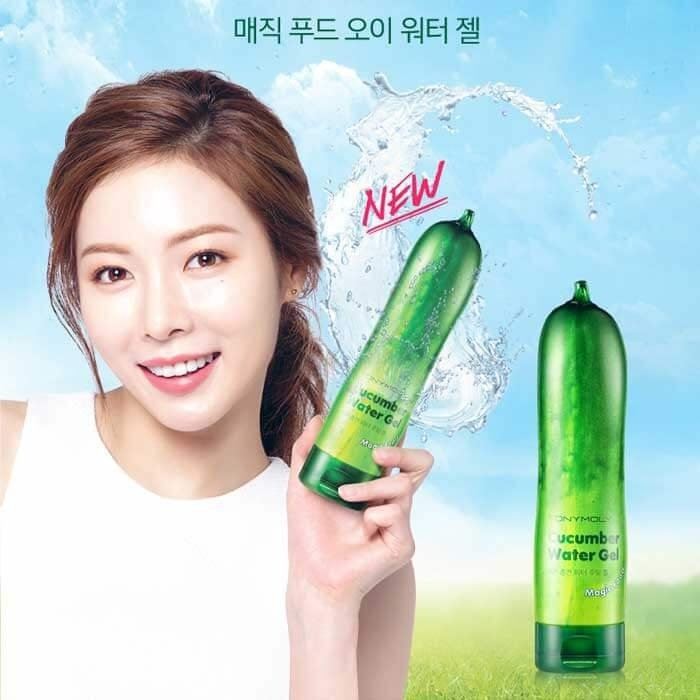 Гель с огурцом Tony Moly Magic Food Cucumber Water Gel