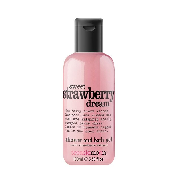 ГельдлядушаTreaclemoon Sweet Strawberry Dream Bath & Shower Gel (100 мл)