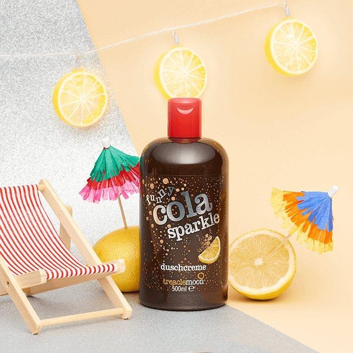 Гель для душа Treaclemoon Funny Cola Sparkle Bath & Shower Gel (500 мл)