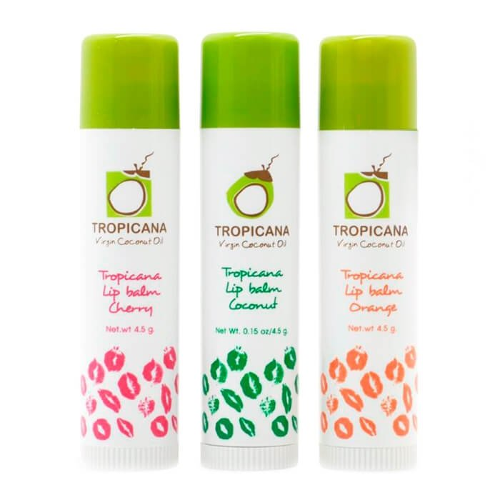 Бальзам для губ Tropicana Virgin Coconut Oil Lip Balm