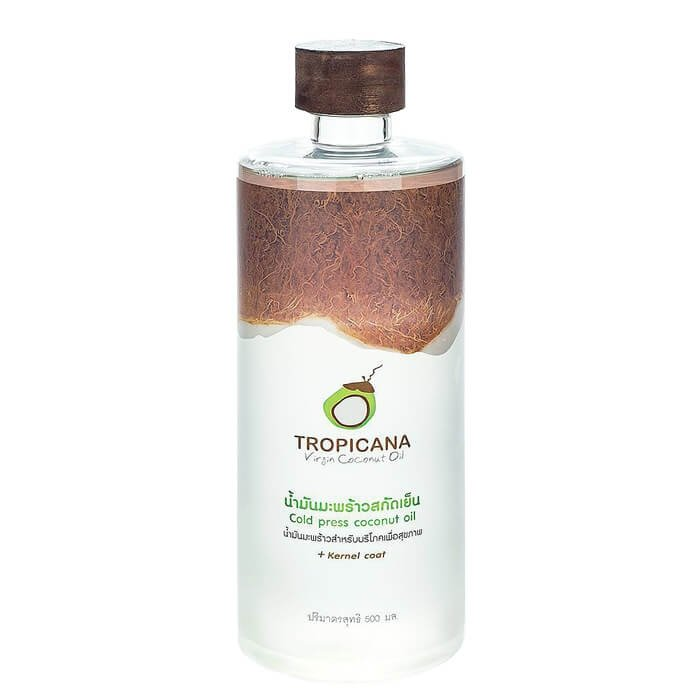 Кокосовое масло Tropicana Organic Cold Pressed Virgin Coconut Oil 100% - Wood