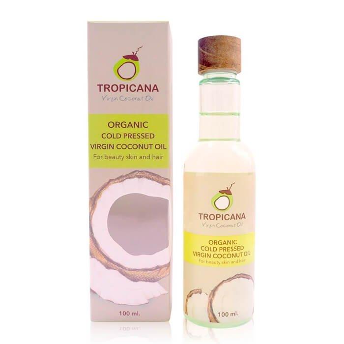 Кокосовое масло Tropicana Organic Cold Pressed Virgin Coconut Oil - Coconut
