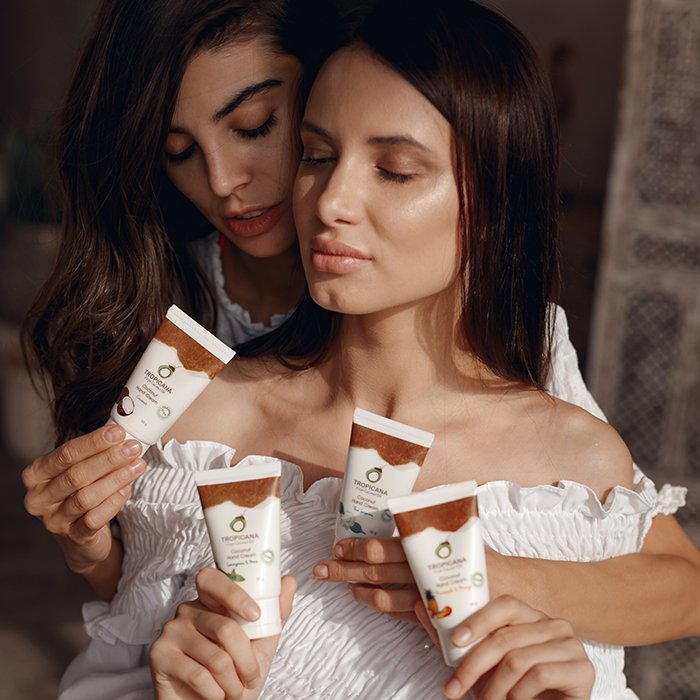 Крем для рук Tropicana Coconut Hand Cream - Thai Jasmine