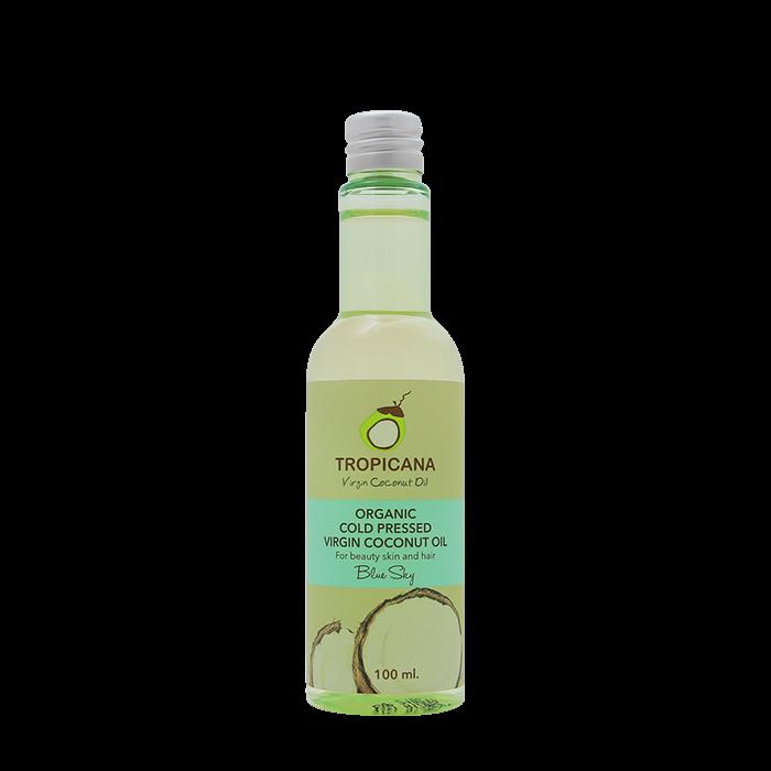 Кокосовое масло Tropicana Organic Cold Pressed Virgin Coconut Oil - Blue Sky