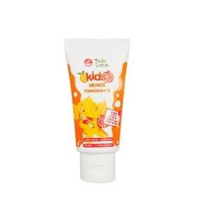 Детская зубная паста Twin Lotus Orange Pomegranate