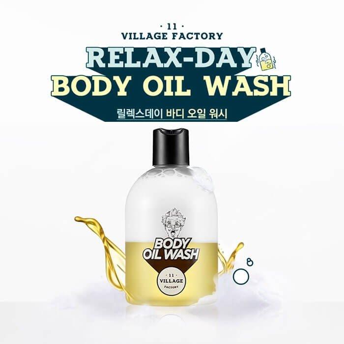 Гель-масло для душа Village 11 Factory Relax-day Body Oil Wash (300 мл)
