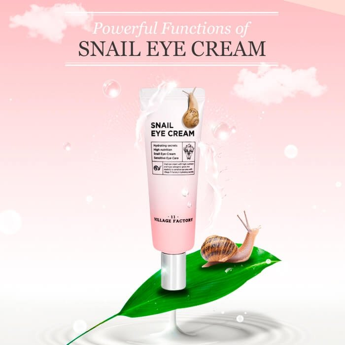 Крем для век Village 11 Factory Snail Eye Cream