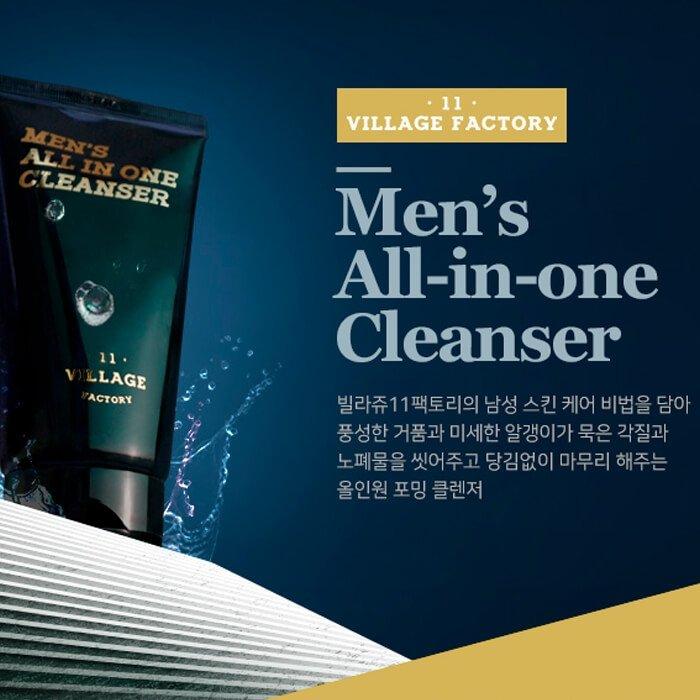 Мужская пенка Village 11 Factory Men's All-in-One Cleanser