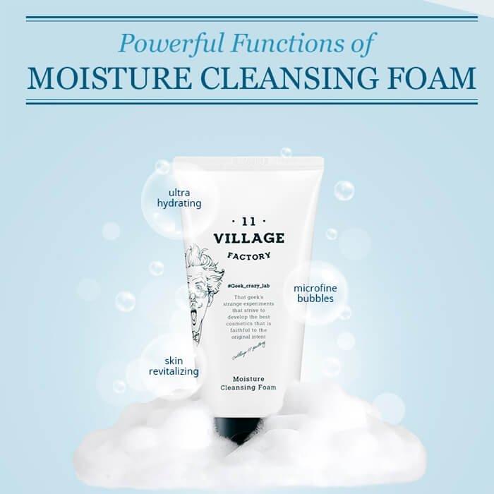 Очищающая пенка Village 11 Factory Moisture Cleansing Foam (150 мл)