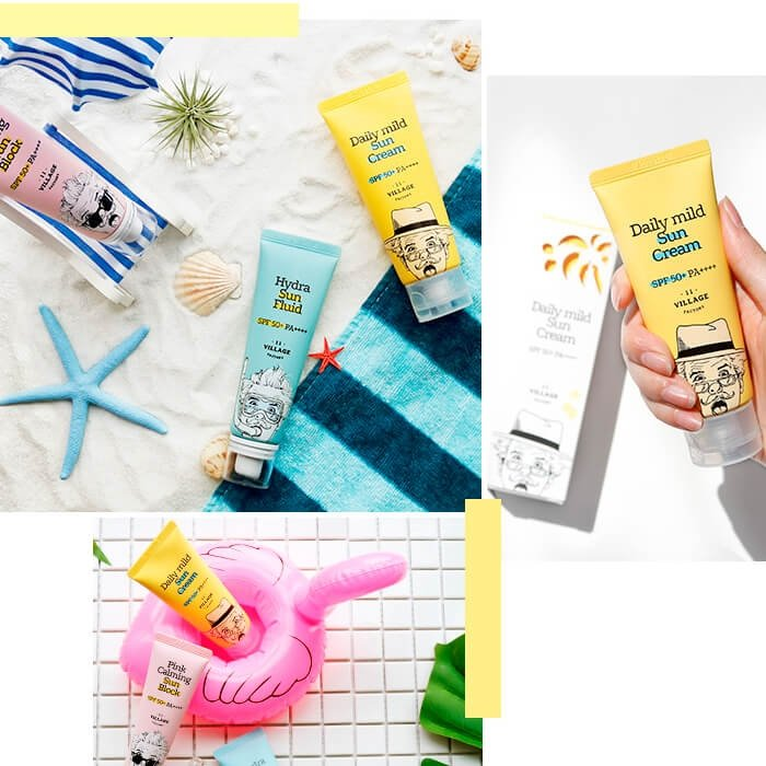 Солнцезащитный крем Village 11 Factory Daily Mild Sun Cream (25 мл)