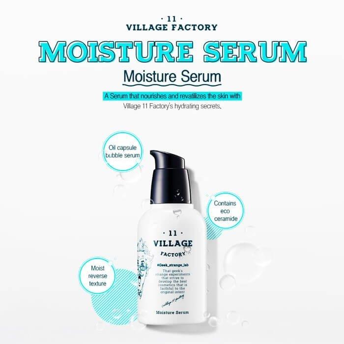 Сыворотка для лица Village 11 Factory Moisture Serum