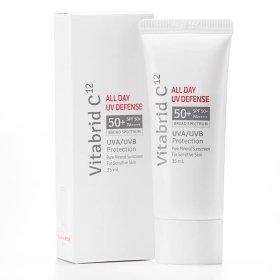 Солнцезащитный крем Vitabrid C12 All Day UV Defence