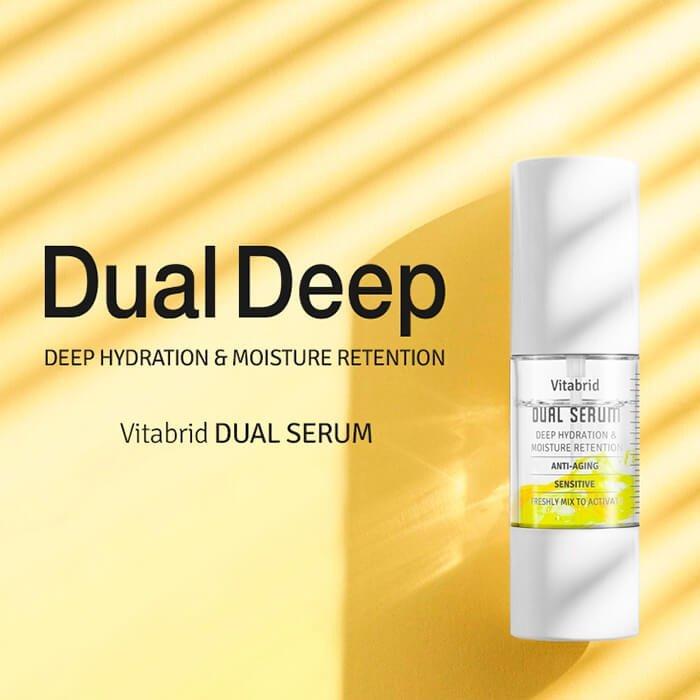 Сыворотка для лица Vitabrid C12 Dual Serum (4х10мл)