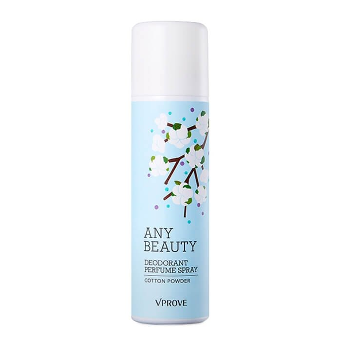 Дезодорант Vprove Any Beauty Deodorant Perfume Spray Cotton Powder