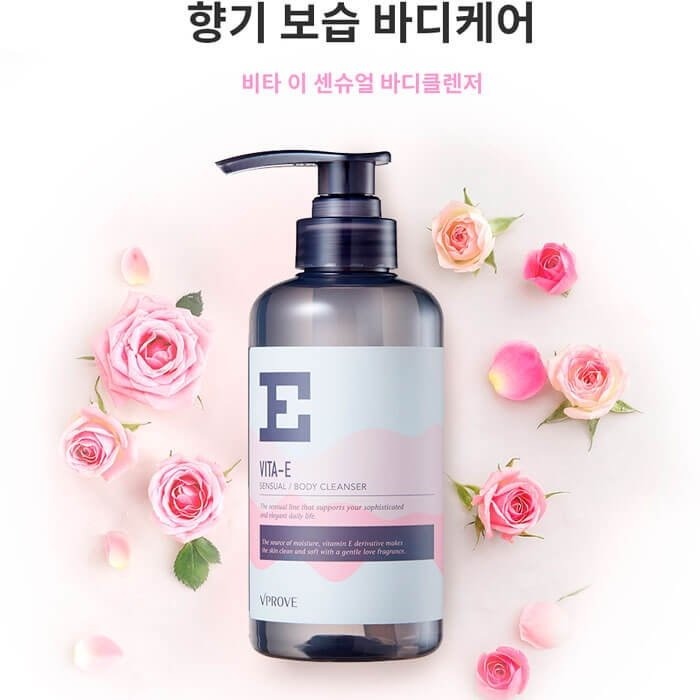 Гель для душа Vprove Vita-E Sensual Body Cleanser