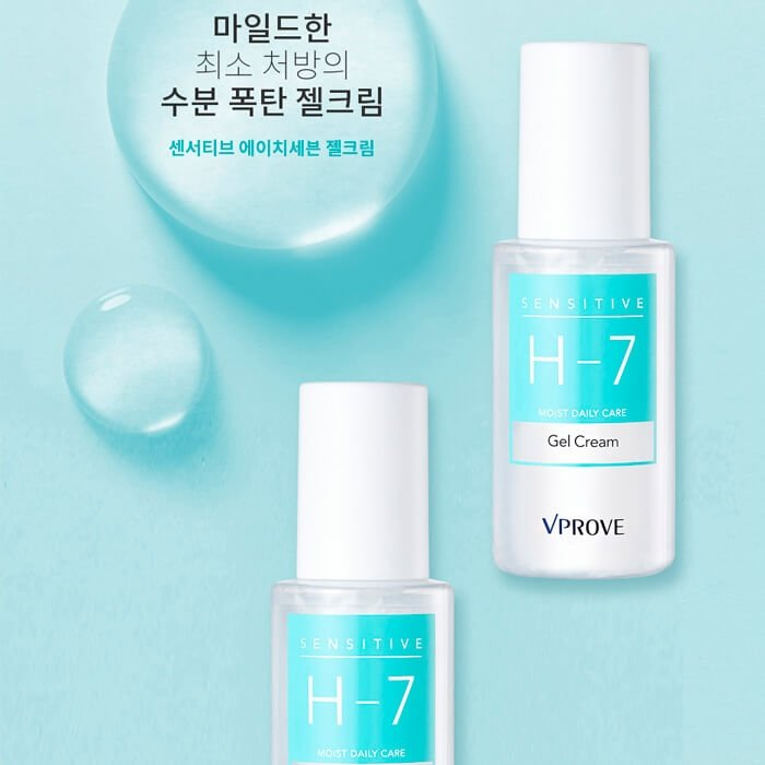 Крем-гель Vprove Sensitive H-7 Moist Daily Care Gel Cream