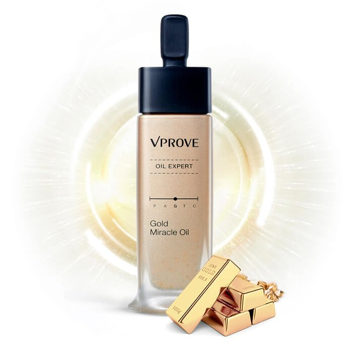 Масло для лица Vprove Oil Expert Gold Miracle Oil