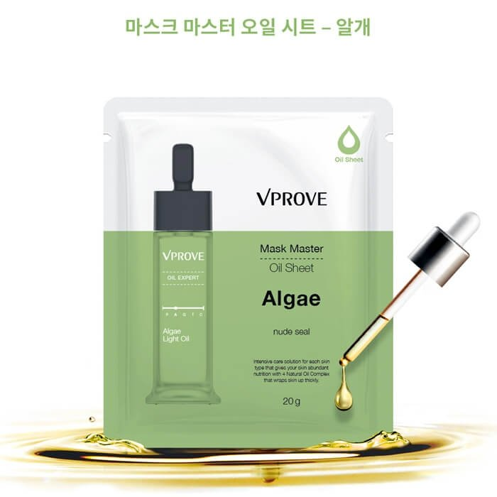 Масляная маска Vprove Mask Master Oil Sheet Algae
