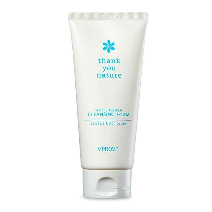 Очищающая пенка Vprove Thank You Nature White Power Cleansing Foam Gentle & Moisture